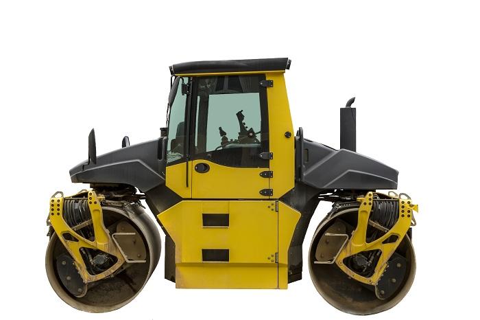 Compaction drum roller